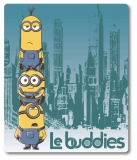 Fleece deka Mimoni Le Buddies 125/150 cm