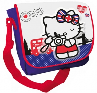 Taška na rameno Hello Kitty London 35 cm