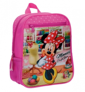 Junior batoh Minnie Craft Room 28 cm